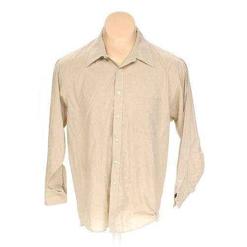 "Geoffrey Beene Button-up Long Sleeve Shirt in size 60"" Chest at up to 95% Off - Swap.com"