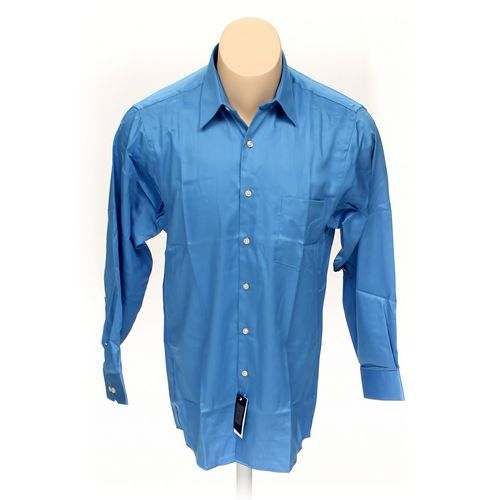 """Geoffrey Beene Button-up Long Sleeve Shirt in size 40"""" Chest at up to 95% Off - Swap.com"""