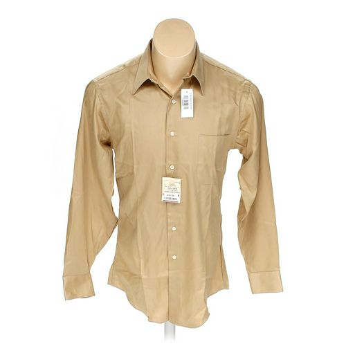 Geoffrey Beene Button-up Long Sleeve Shirt in size M at up to 95% Off - Swap.com