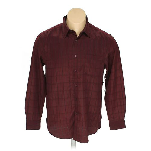 """GEORGE Button-up Long Sleeve Shirt in size 42"""" Chest at up to 95% Off - Swap.com"""