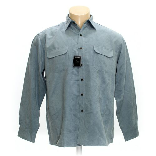 GEORGE Button-up Long Sleeve Shirt in size XL at up to 95% Off - Swap.com