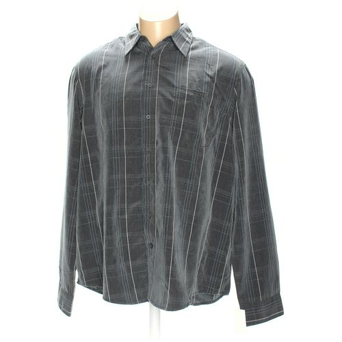 Haggar Button-up Long Sleeve Shirt in size 3XL at up to 95% Off - Swap.com