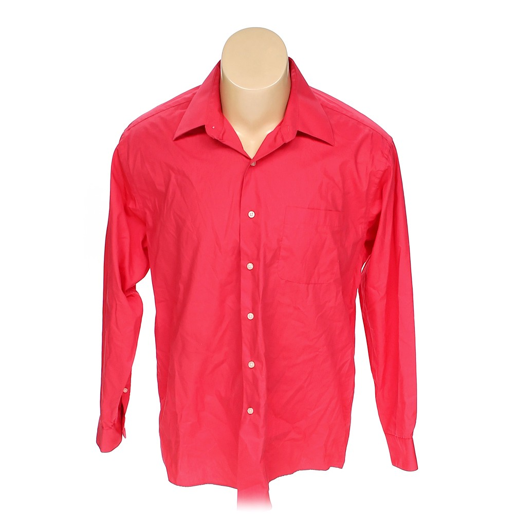4384ae1f Haggar Button-up Long Sleeve Shirt in size L at up to 95% Off