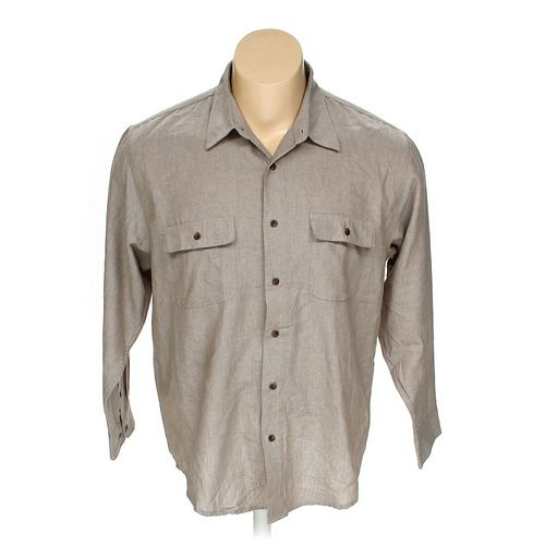 Haggar Button-up Long Sleeve Shirt in size XL at up to 95% Off - Swap.com