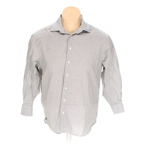 """Hammer Made Button-up Long Sleeve Shirt in size 46"""" Chest at up to 95% Off - Swap.com"""