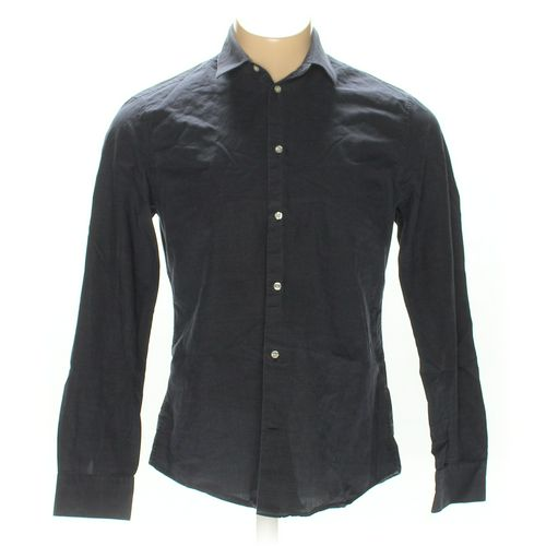 H&M Button-up Long Sleeve Shirt in size L at up to 95% Off - Swap.com