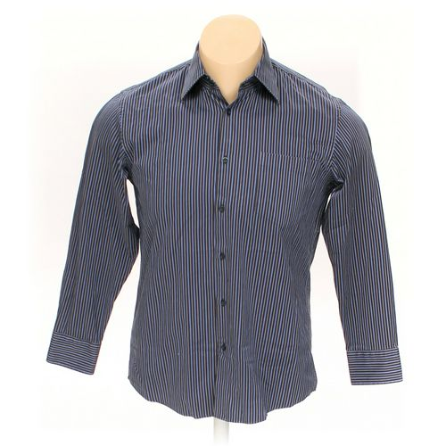 """HUGO BOSS Button-up Long Sleeve Shirt in size 46"""" Chest at up to 95% Off - Swap.com"""