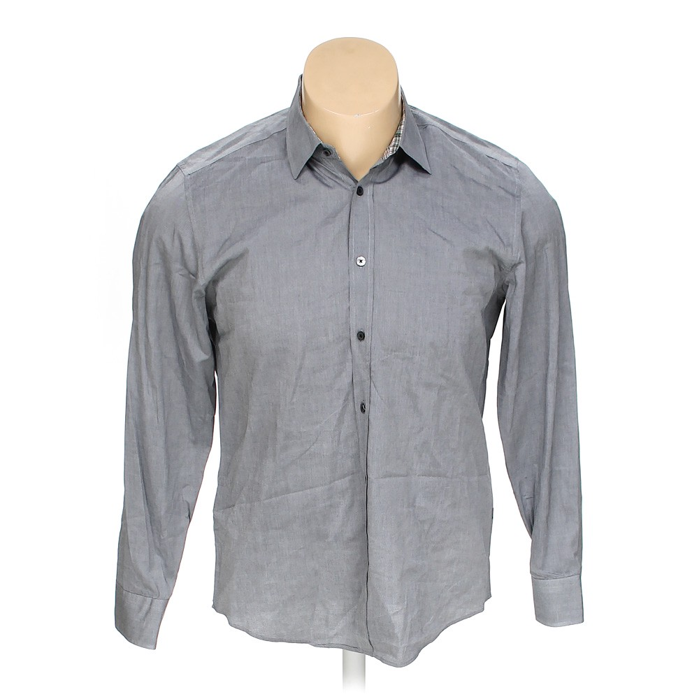 a72ff7a62 HUGO BOSS Button-up Long Sleeve Shirt in size XL at up to 95%
