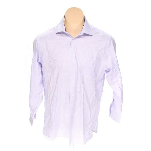 """Ike Behar Button-up Long Sleeve Shirt in size 56"""" Chest at up to 95% Off - Swap.com"""