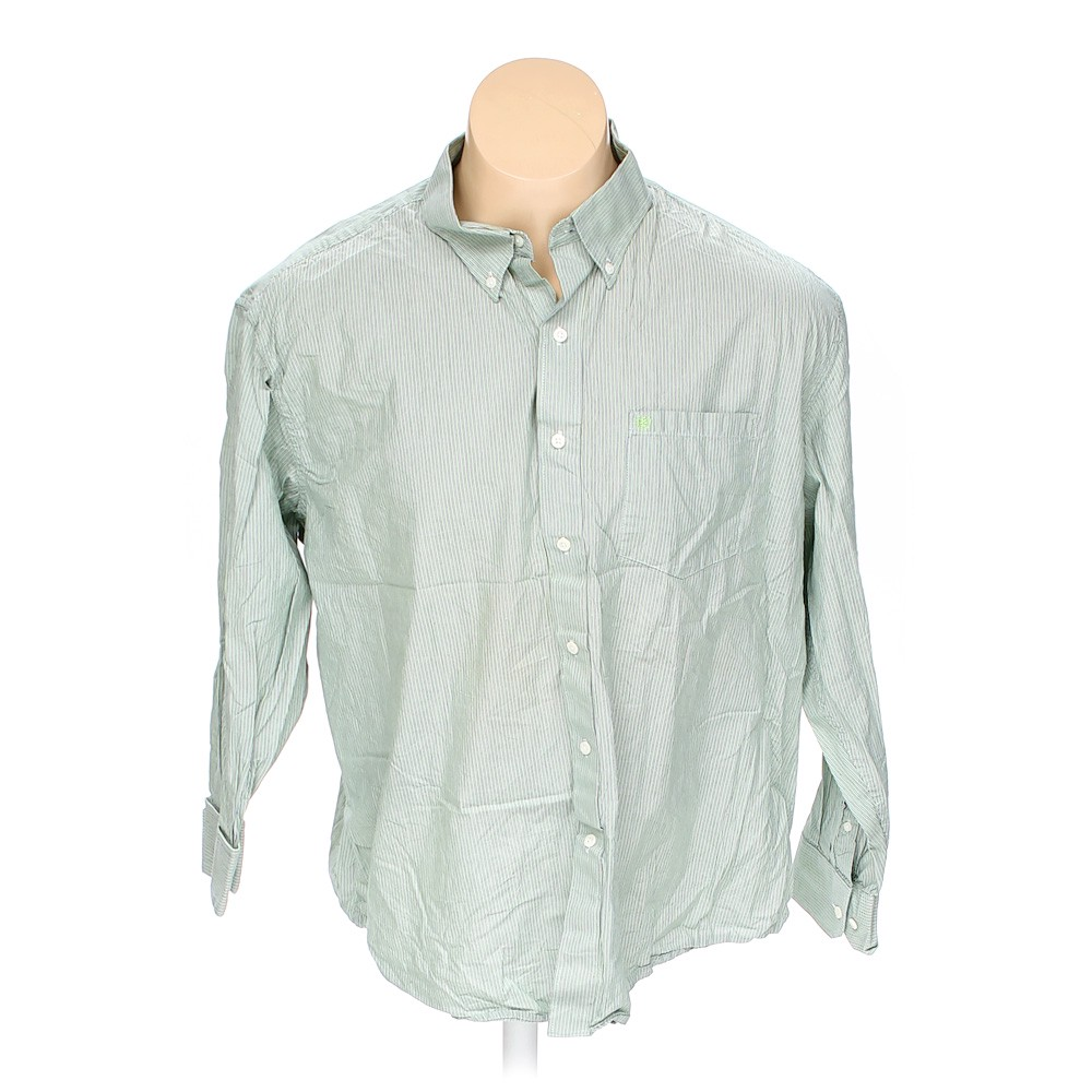 b00333378aa1 Izod Button-up Long Sleeve Shirt in size 2XL at up to 95% Off