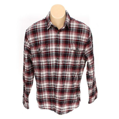 """Jachs Button-up Long Sleeve Shirt in size 36"""" Chest at up to 95% Off - Swap.com"""