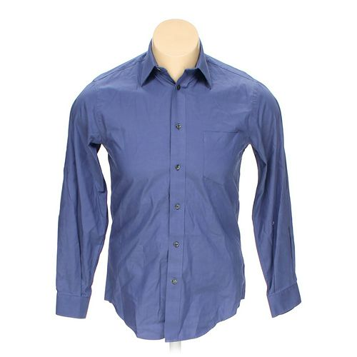 """John Bartlett Button-up Long Sleeve Shirt in size 46"""" Chest at up to 95% Off - Swap.com"""