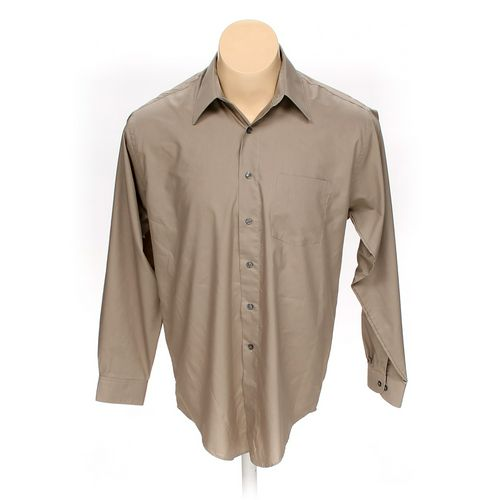 John Henry Button-up Long Sleeve Shirt in size L at up to 95% Off - Swap.com