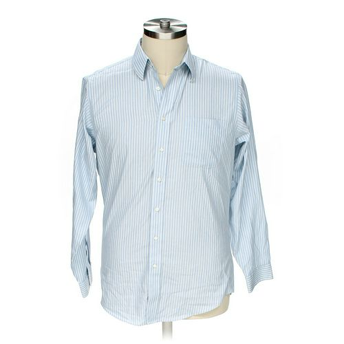 """Jos. A. Bank Button-up Long Sleeve Shirt in size 44"""" Chest at up to 95% Off - Swap.com"""