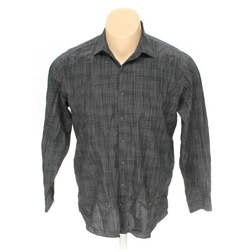 "KENNETH COLE REACTION Button-up Long Sleeve Shirt in size 52"" Chest at up to 95% Off - Swap.com"