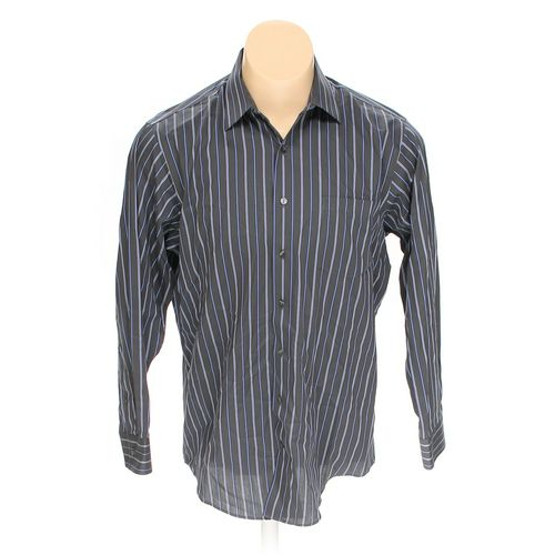 KENNETH COLE REACTION Button-up Long Sleeve Shirt in size L at up to 95% Off - Swap.com