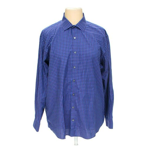 KENNETH COLE REACTION Button-up Long Sleeve Shirt in size XXL at up to 95% Off - Swap.com