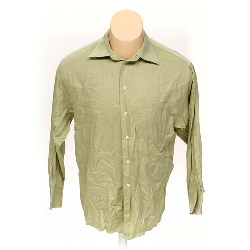 Kenneth Cole Button-up Long Sleeve Shirt in size M at up to 95% Off - Swap.com