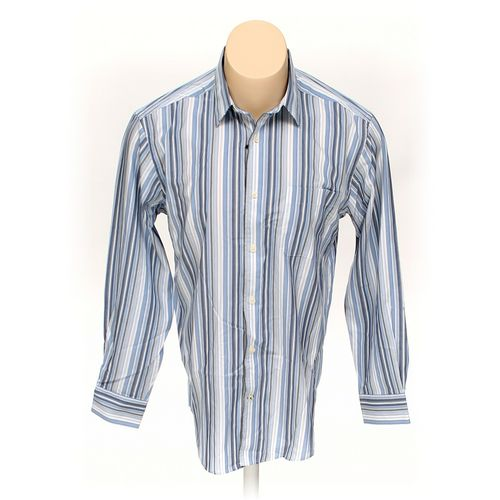 Kenneth Roberts Button-up Long Sleeve Shirt in size M at up to 95% Off - Swap.com