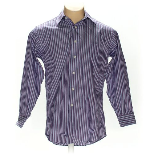 """Kirkland Signature Button-up Long Sleeve Shirt in size 44"""" Chest at up to 95% Off - Swap.com"""