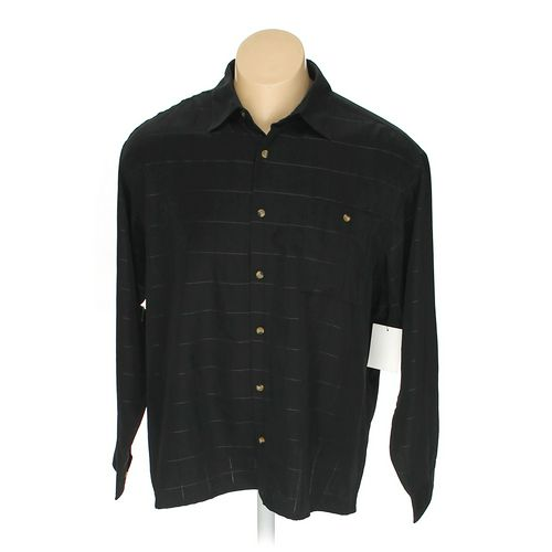 Knightsbridge Button-up Long Sleeve Shirt in size 2XL at up to 95% Off - Swap.com