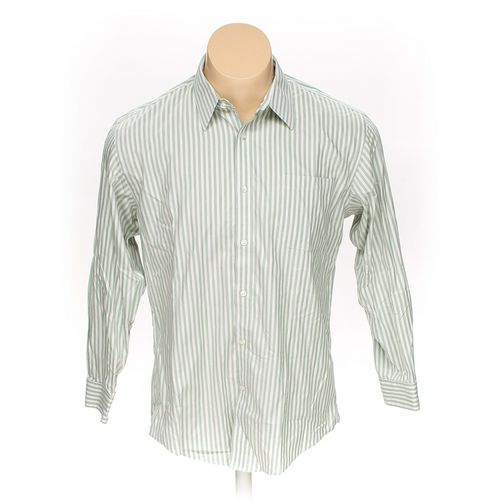 "Lands' End Button-up Long Sleeve Shirt in size 46"" Chest at up to 95% Off - Swap.com"