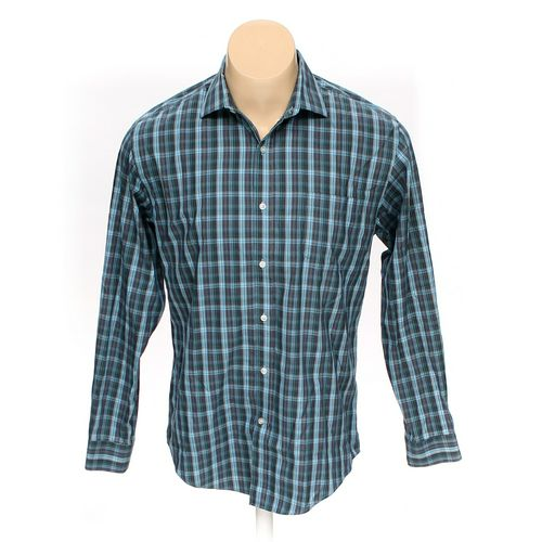 Lands' End Button-up Long Sleeve Shirt in size L at up to 95% Off - Swap.com