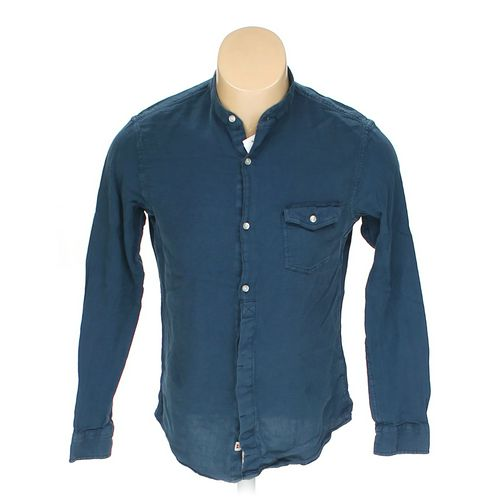 Lands' End Button-up Long Sleeve Shirt in size M at up to 95% Off - Swap.com