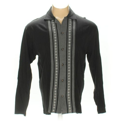 Le Collezioni Structure Button-up Long Sleeve Shirt in size M at up to 95% Off - Swap.com