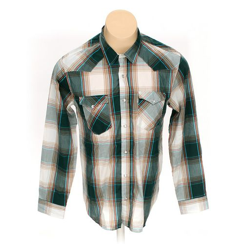 Levi's Button-up Long Sleeve Shirt in size L at up to 95% Off - Swap.com
