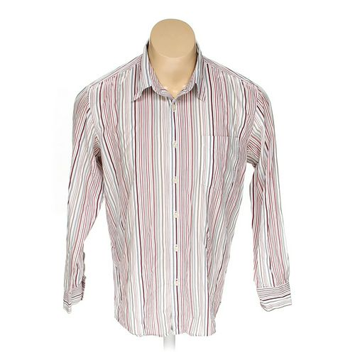 Lucky Brand Button-up Long Sleeve Shirt in size XL at up to 95% Off - Swap.com