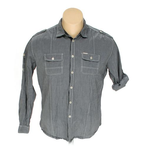 MARC ECKO Button-up Long Sleeve Shirt in size XL at up to 95% Off - Swap.com