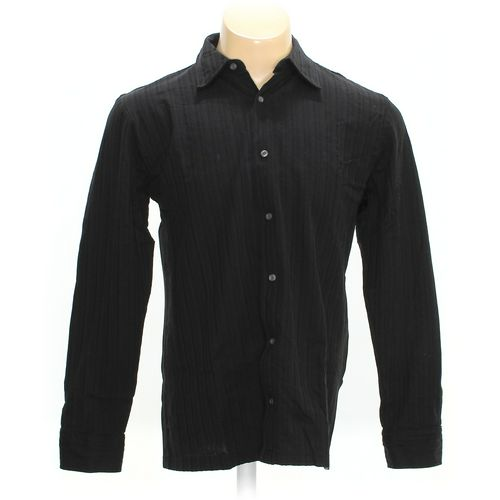 Metropolitan by LORD and TAYLOR Button-up Long Sleeve Shirt in size L at up to 95% Off - Swap.com