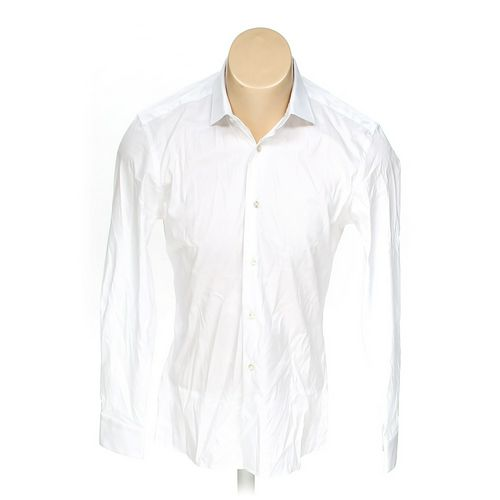 """Monsieur Brunold Button-up Long Sleeve Shirt in size 44"""" Chest at up to 95% Off - Swap.com"""