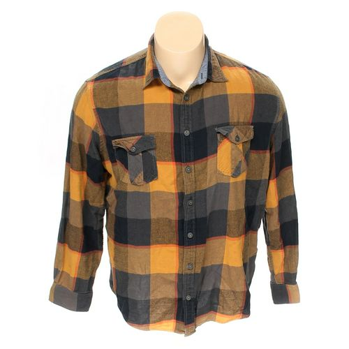 Mossimo Supply Co. Button-up Long Sleeve Shirt in size XXL at up to 95% Off - Swap.com