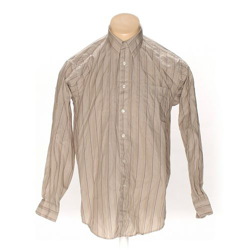 """Nino Cerutti Button-up Long Sleeve Shirt in size 40"""" Chest at up to 95% Off - Swap.com"""