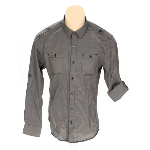 No Appt Necessary Button-up Long Sleeve Shirt in size L at up to 95% Off - Swap.com
