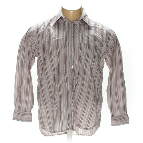 Options by Enro Button-up Long Sleeve Shirt in size XL at up to 95% Off - Swap.com