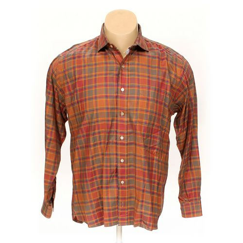 Paul Stuart Button-up Long Sleeve Shirt in size XL at up to 95% Off - Swap.com