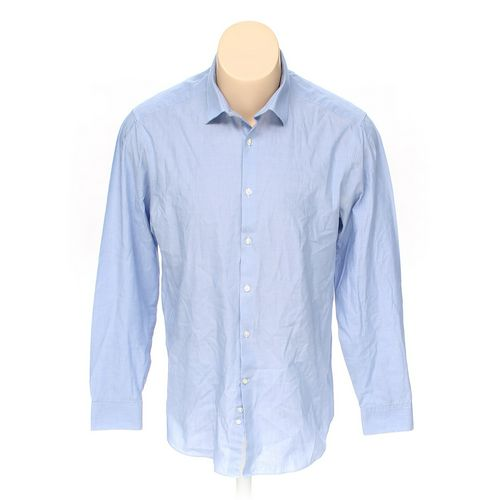 """Perry Ellis Portfolio Button-up Long Sleeve Shirt in size 42"""" Chest at up to 95% Off - Swap.com"""