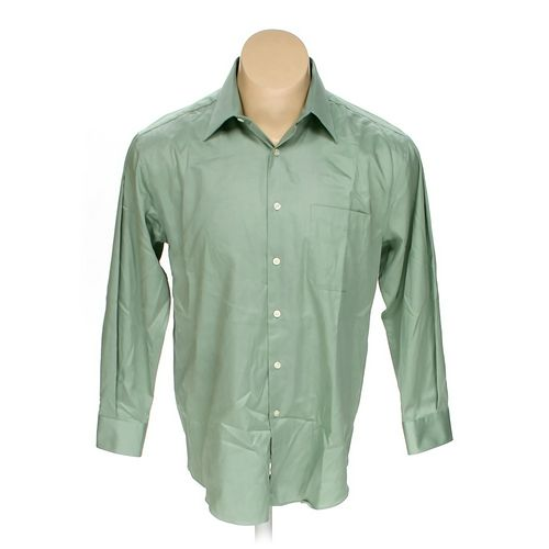 Perry Ellis Portfolio Button-up Long Sleeve Shirt in size L at up to 95% Off - Swap.com