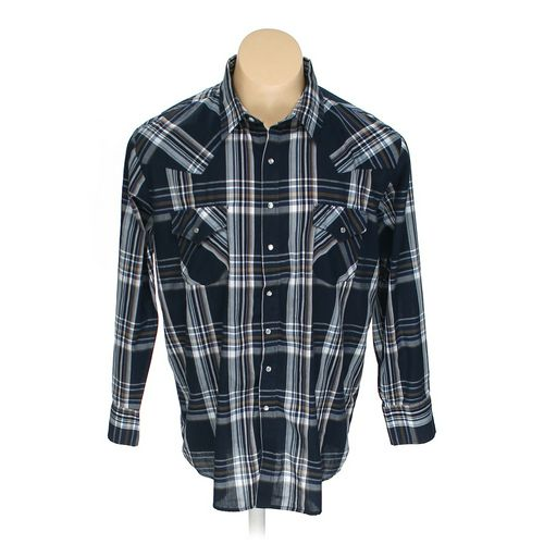 Plains Button-up Long Sleeve Shirt in size XL at up to 95% Off - Swap.com