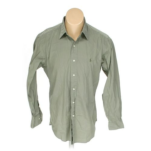 Polo by Ralph Lauren Button-up Long Sleeve Shirt in size M at up to 95% Off - Swap.com