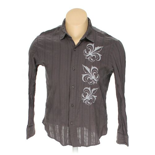 Pop Icon Button-up Long Sleeve Shirt in size XXL at up to 95% Off - Swap.com
