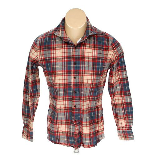 """Button-up Long Sleeve Shirt in size 38"""" Chest at up to 95% Off - Swap.com"""