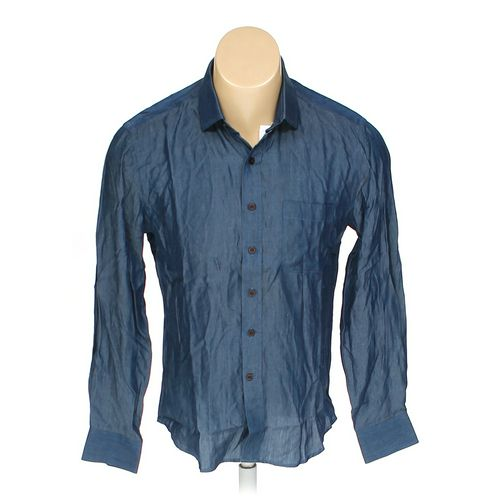 """Button-up Long Sleeve Shirt in size 40"""" Chest at up to 95% Off - Swap.com"""