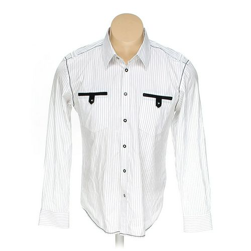 Button-up Long Sleeve Shirt in size L at up to 95% Off - Swap.com