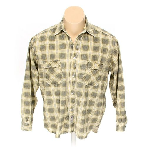 Rivet Button-up Long Sleeve Shirt in size XXL at up to 95% Off - Swap.com