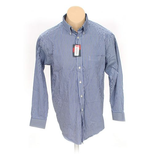 Roundtree & Yorke Button-up Long Sleeve Shirt in size L at up to 95% Off - Swap.com