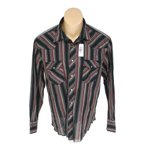 Rustler Button-up Long Sleeve Shirt in size XL at up to 95% Off - Swap.com